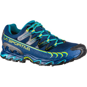 La Sportiva Ultra Raptor GTX Running Shoes Men indigo/apple green